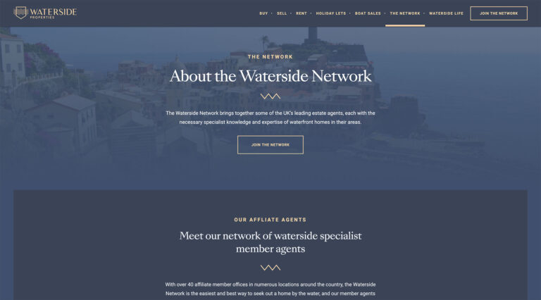Waterside Properties screenshot